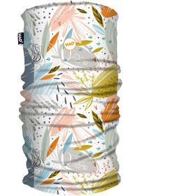 HAD Printed Fleece Loop Sjaal Kinderen, wit/grijs